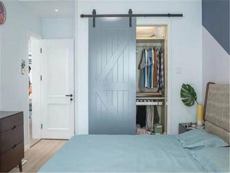 5-10万120平米三室两厅北欧风格衣帽间装修案例