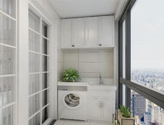 140平米三室一厅现代简约风格阳台图片大全