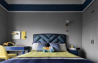 富裕型130平米四室两厅美式风格卧室设计图