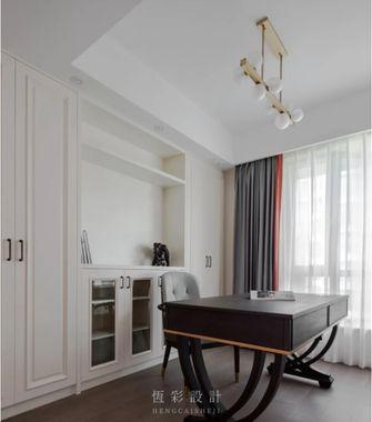 豪华型140平米四室两厅美式风格书房装修图片大全