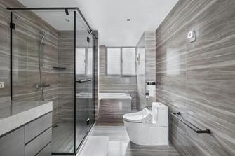 富裕型140平米四室四厅美式风格卫生间图片大全