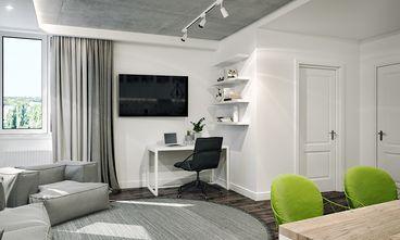 经济型80平米公寓工业风风格客厅欣赏图