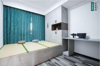 富裕型110平米三室两厅工业风风格青少年房装修案例