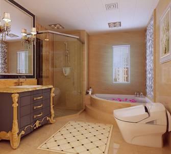 20万以上140平米别墅新古典风格卫生间设计图