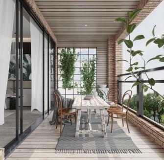 20万以上140平米中式风格阳台图片