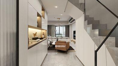 120平米四室两厅现代简约风格楼梯间设计图