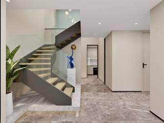 120平米三现代简约风格楼梯间装修案例