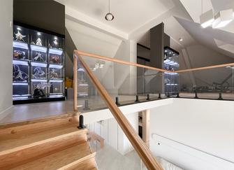 豪华型140平米复式现代简约风格影音室图片