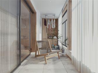 豪华型140平米四室两厅中式风格阳台图