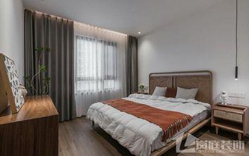 20万以上140平米三室两厅北欧风格卧室装修图片大全