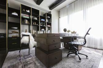 110平米三混搭风格书房装修案例