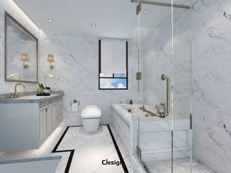 豪华型140平米别墅中式风格卫生间设计图