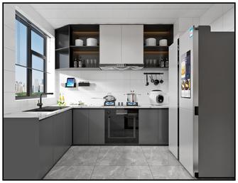130平米四室一厅轻奢风格厨房图片大全