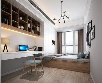 豪华型90平米三室两厅日式风格书房设计图