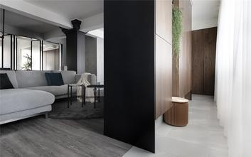60平米一居室现代简约风格客厅装修案例
