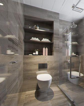 100平米三室一厅英伦风格卫生间设计图
