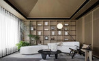 20万以上140平米三室一厅法式风格书房图片