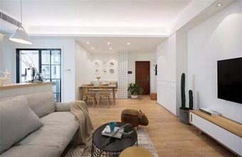 富裕型120平米三室两厅北欧风格走廊图