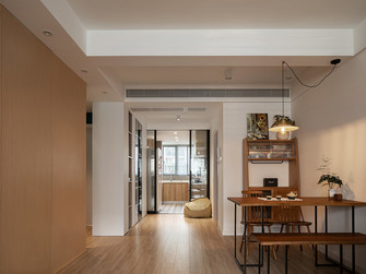 10-15万90平米公寓混搭风格餐厅装修效果图