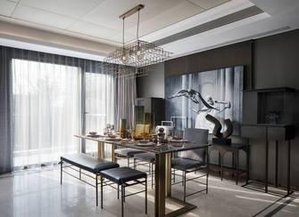 豪华型140平米别墅轻奢风格餐厅效果图