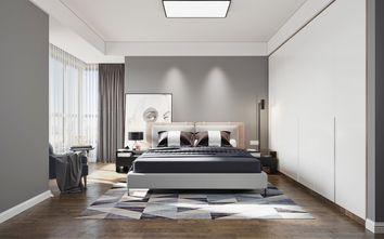 豪华型140平米三室两厅现代简约风格卧室装修图片大全