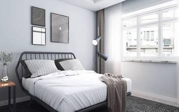 5-10万120平米三室两厅英伦风格卧室装修案例