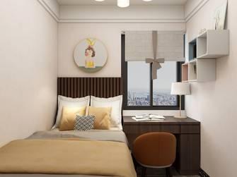 经济型100平米三中式风格卧室设计图