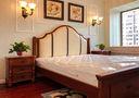 15-20万120平米四室两厅田园风格卧室设计图