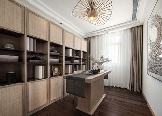 富裕型100平米三室一厅东南亚风格书房图片大全