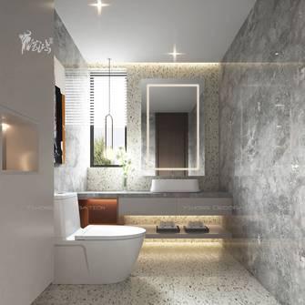 140平米别墅现代简约风格卫生间效果图