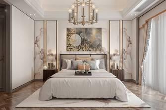 100平米三中式风格卧室装修案例