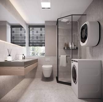 90平米轻奢风格卫生间装修案例