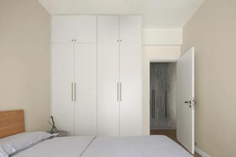 富裕型80平米三室两厅日式风格卧室装修图片大全