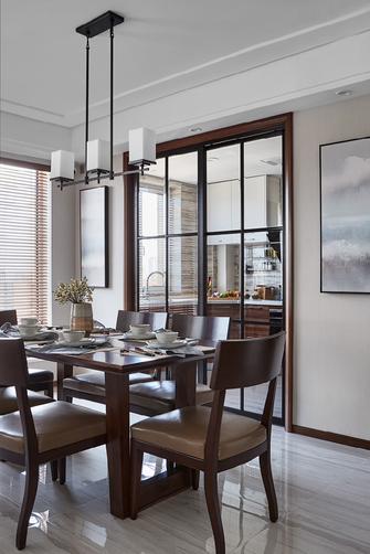 130平米三中式风格餐厅图片