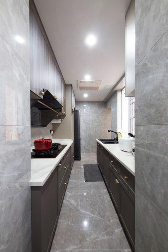 140平米公寓轻奢风格厨房图