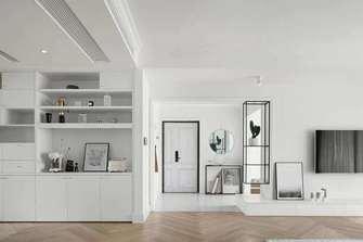 10-15万110平米三室两厅北欧风格客厅设计图