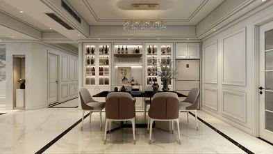 20万以上140平米四室一厅轻奢风格餐厅设计图