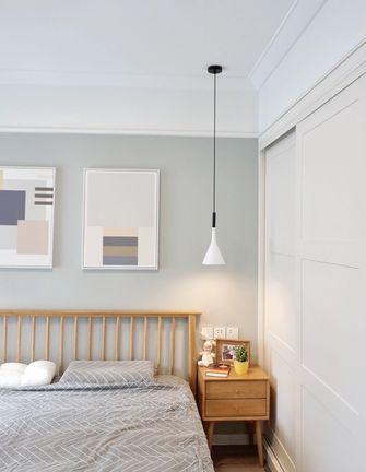 5-10万90平米三室两厅现代简约风格卧室图片
