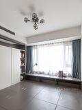 120平米三室两厅轻奢风格书房图片