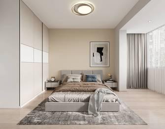 20万以上140平米复式现代简约风格卧室设计图