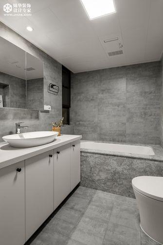 豪华型140平米三室两厅混搭风格卫生间装修案例