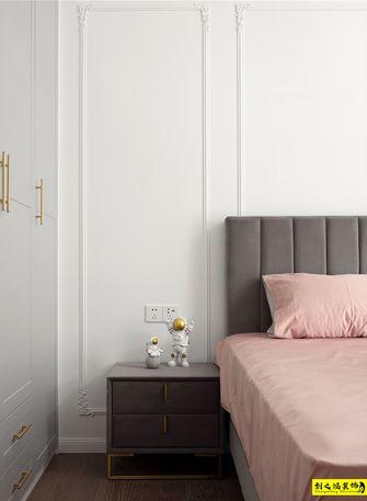 5-10万90平米三室一厅混搭风格卧室装修案例