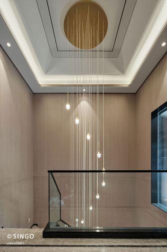 20万以上140平米别墅中式风格楼梯间图片