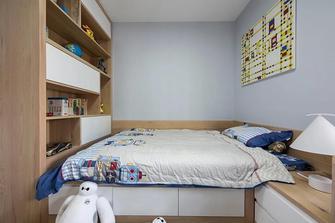 富裕型140平米四室两厅北欧风格书房装修案例