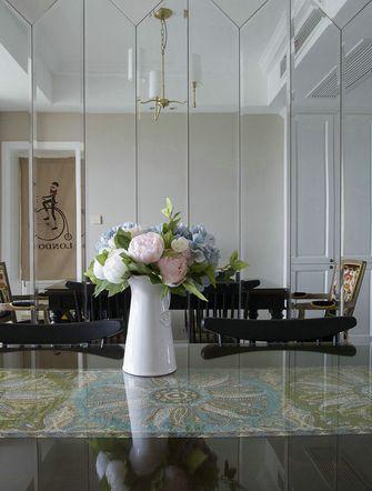 130平米三室两厅美式风格餐厅设计图