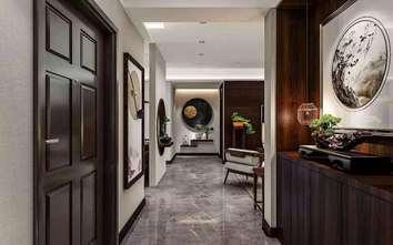 120平米新古典风格玄关设计图