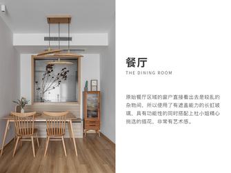 20万以上90平米三室两厅日式风格餐厅装修图片大全
