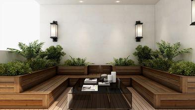豪华型140平米别墅现代简约风格阳光房设计图