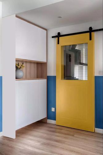 80平米三室一厅北欧风格玄关欣赏图