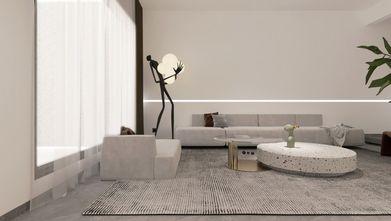 20万以上140平米复式现代简约风格客厅欣赏图